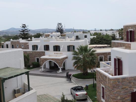 Vista desde la terraza del hotel Argos