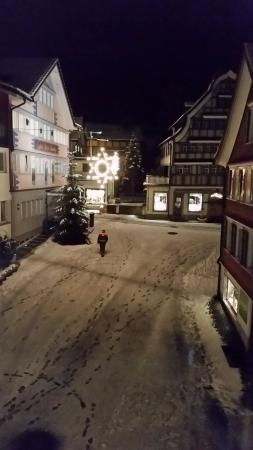 Hotel Traube: From the window on the second floor