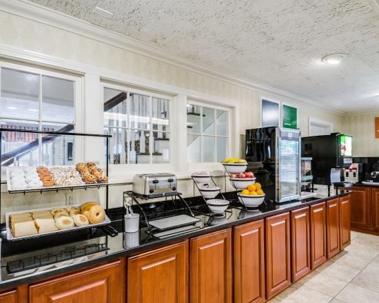 Ρόκλαντ, Μασαχουσέτη: Breakfast Area