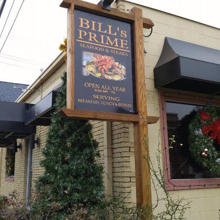 Bill's Seafood Restaurant : Bill's Prime