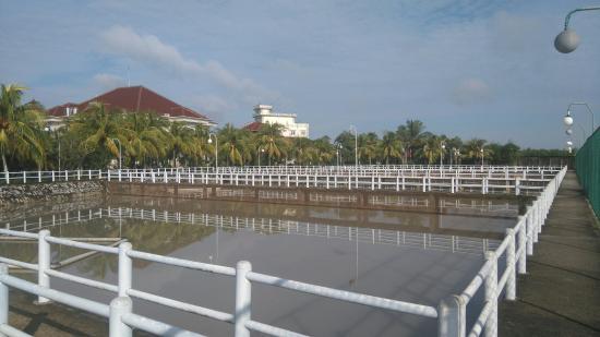Bangka Belitung Islands, Indonesia: Hotel outdoor facilities