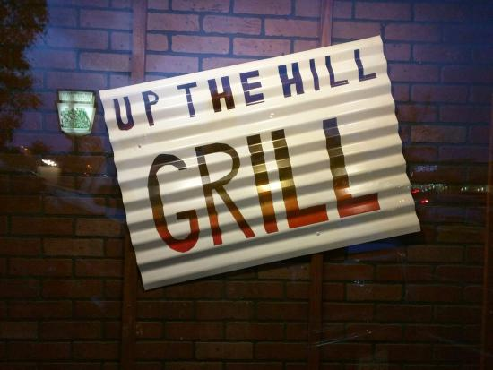 Ramona, CA: Up the Hill Grill has some interesting decorations