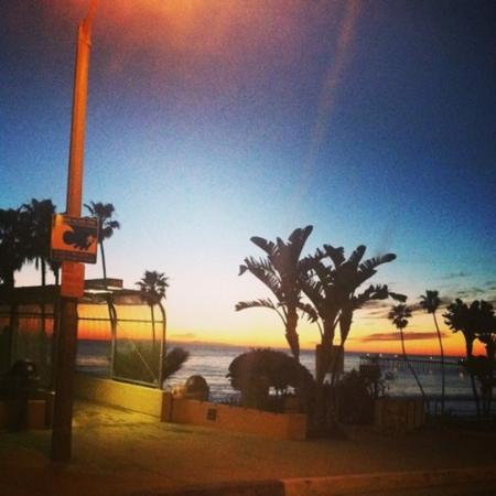 San Clemente, Californien: Sunset at T-Street