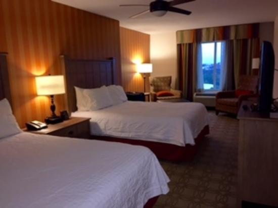 Bedroom with 2 queen beds picture of homewood suites by - Two bedroom suites in atlanta ga ...
