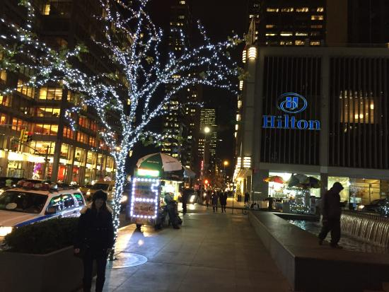 Christmas picture of new york hilton midtown new york city new york hilton midtown christmas sciox Image collections