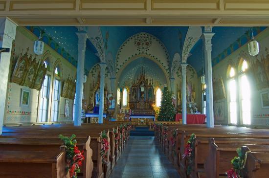 Painted Churches Tour: Saints Cyril and Methodius Church, Dubina