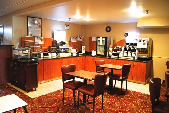 La Junta, Колорадо: Breakfast Bar