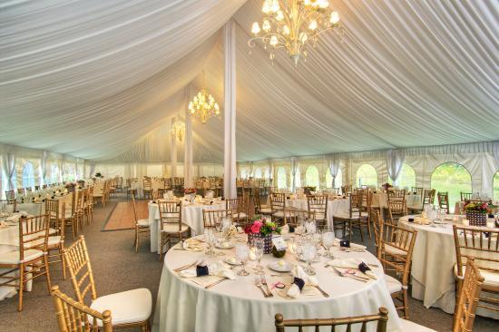 Cavendish, VT : Tent Interior