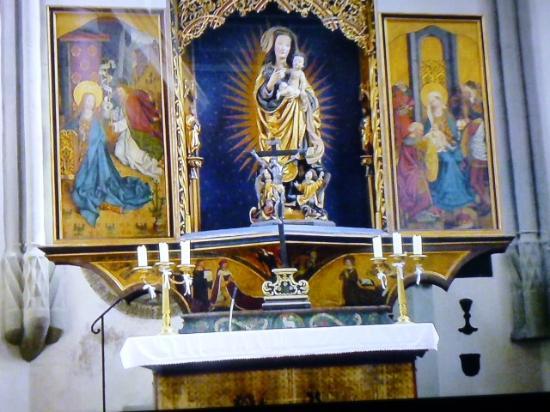 St. Gumbertus Church: 主祭壇