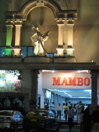 Mambo Cabaret Show : 入口