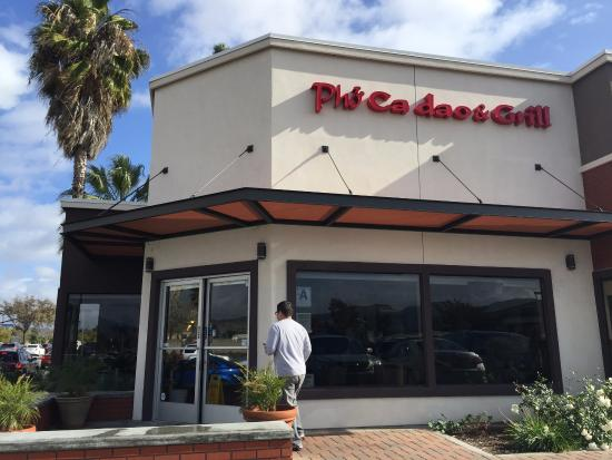 Santee, CA: Front of the restaurant