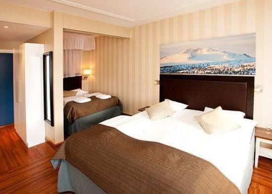 Fagernes, Norwegen: Guest Room