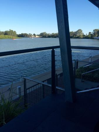 View from the outside deck of the Renmark Club
