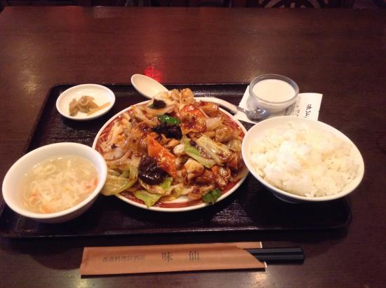 Honkonryoriizakaya Ajisen: ホイコーロー定食