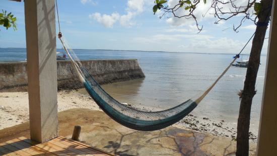 Freedive HQ: Petit hamac pour les siestes après session :-)