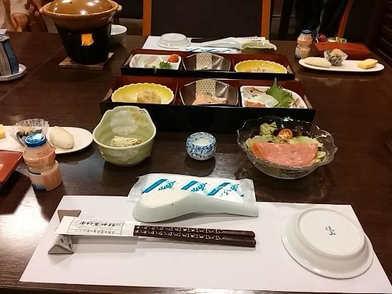 Kimuraya Ryokan : 朝食