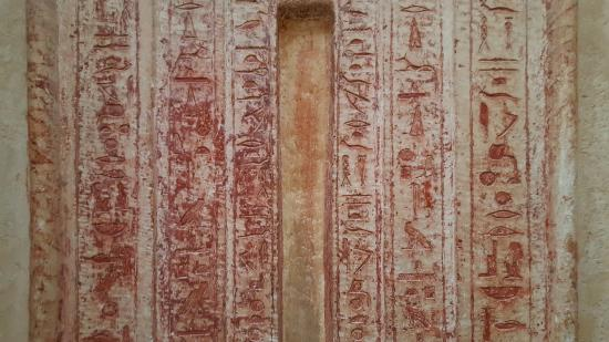 Mastaba Of Mereruka: False Door