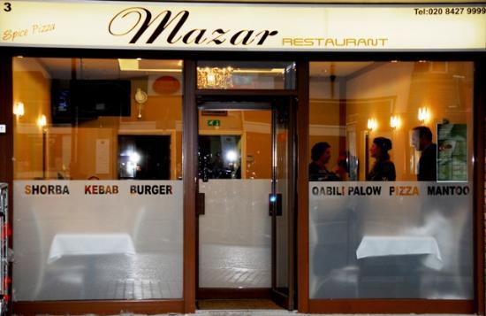 Mazar Restaurant: Afghani restaurant in harrow