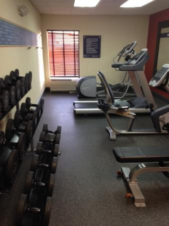 Hampton Inn Marion: Gym