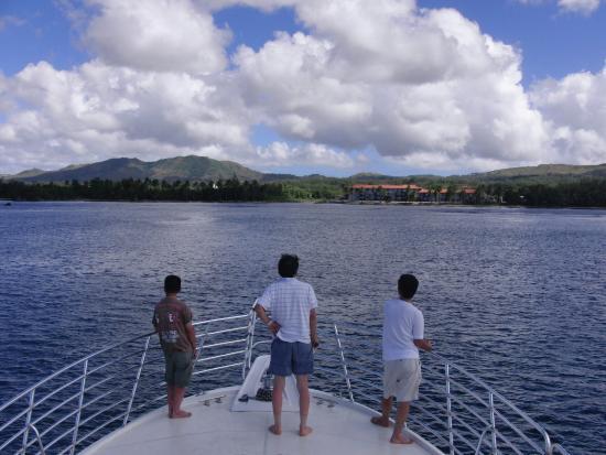 Guam, جزر ماريانا: イルカウォッチング・アドベンチャー クロッペンバーグエンタープライズ