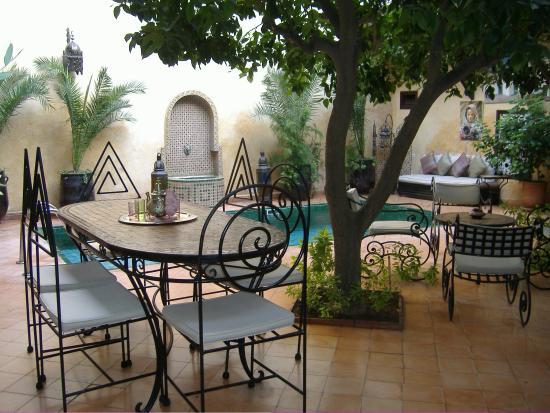 Riad du Petit Prince: hall