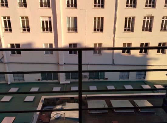 Grand Hotel le Florence : Вид из окна номера