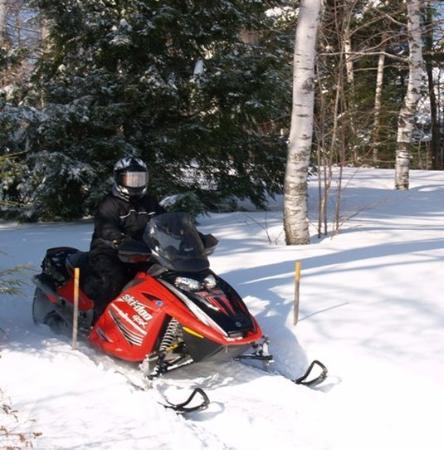 Wilton, ME: Snowmobling