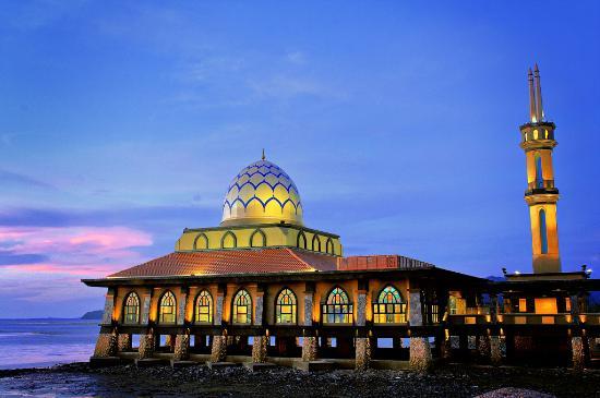 Kuala Perlis, Malaysia: Al Hussain Mosque