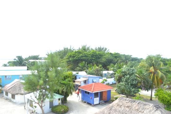 Anchorage Beach Resort: View from room