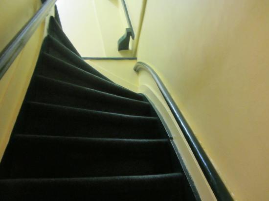 Freeland Hotel: Лестница