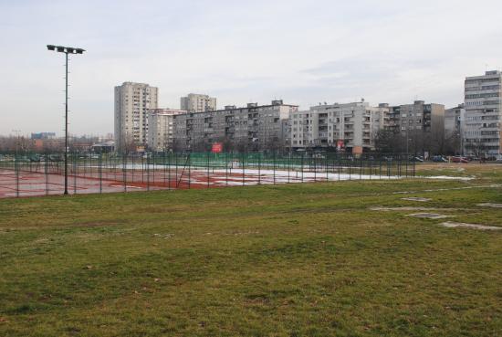 Topcider Park: Спортплощадка как продолжение парка