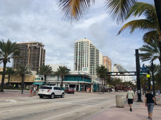 Fort Lauderdale Beach Park More Hotels Along The Boardwalk