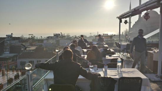 Seven Hills Restaurant: Auf der Terrasse