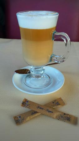 Seven Hills Restaurant: Latte Macchiato