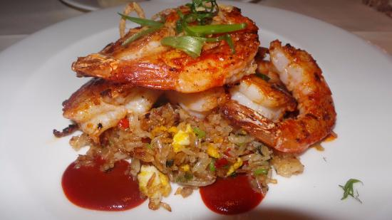 Spicy Shrimp With Fried Rice Picture Of Roy S Restaurant