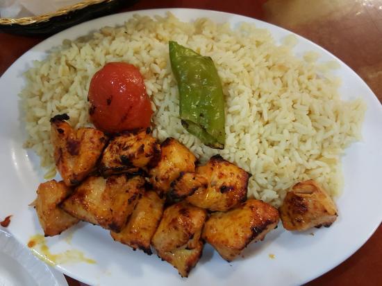 Kandahar: Chicken Shish Cubes, Turkish Rice