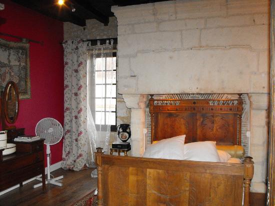 Tocane Saint-Apre, France : fürstliches Schlafzimmer