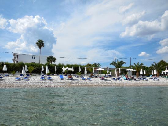 Drepano, Hellas: Hotelová pláž