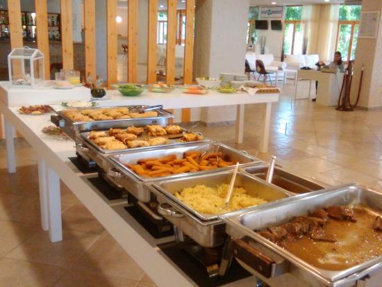 Drepano, Griekenland: Jedáleň hotela