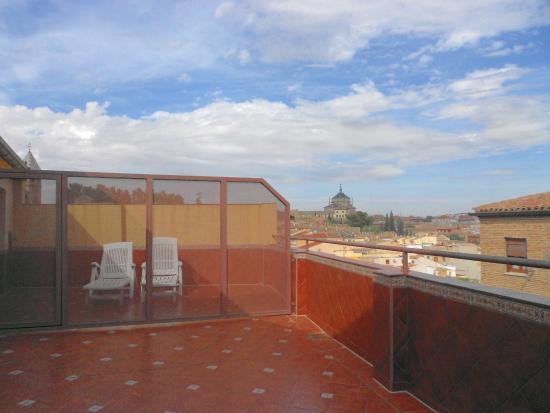 Hotel Sol : Vista desde la habitación