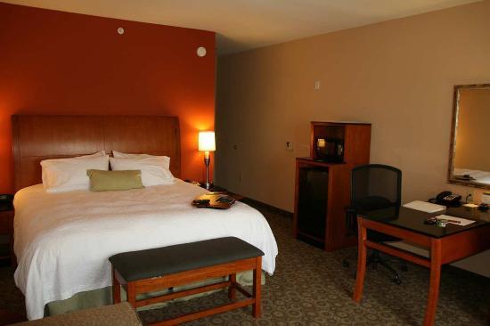 Buffalo, TX: King Study Guest Room