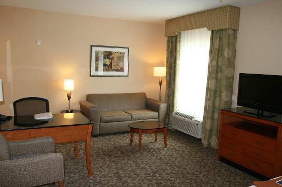Buffalo, TX: Suite Living Room