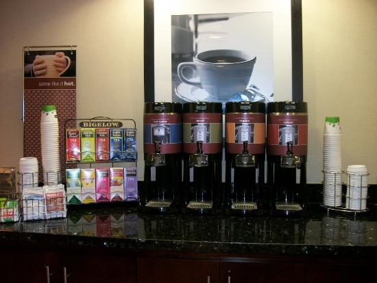 Alpine, TX: Tea & Coffee 24x7 !!!