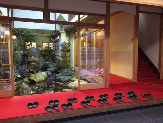 Nishikiro Ryokan: Entrance