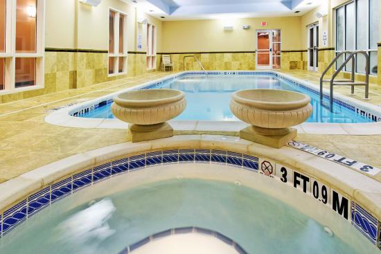 Holiday Inn Express & Suites Crestview- indoor pool and hot tub.