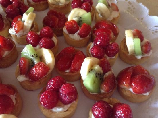 lady Marion: Mini tartitas de fruta