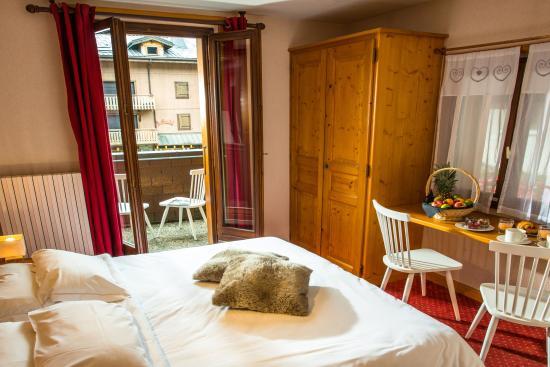 Chalet Hotel Regina : chambre double