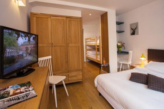 Chalet Hotel Regina : chambre familiale