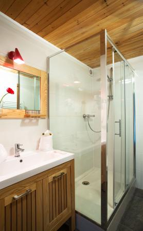Chalet Hotel Regina : salle de bains