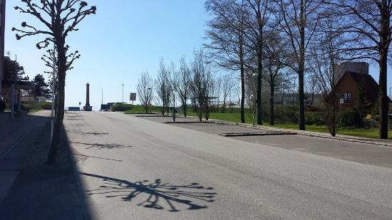 Roedby, Δανία: Keine Menschenseele da